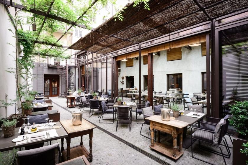 Restaurant Garden - Terrasse