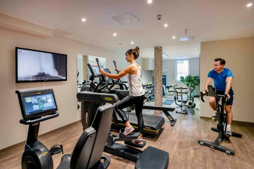 Fitnessraum Best Western Plus Hotel Erb Parsdorf-München