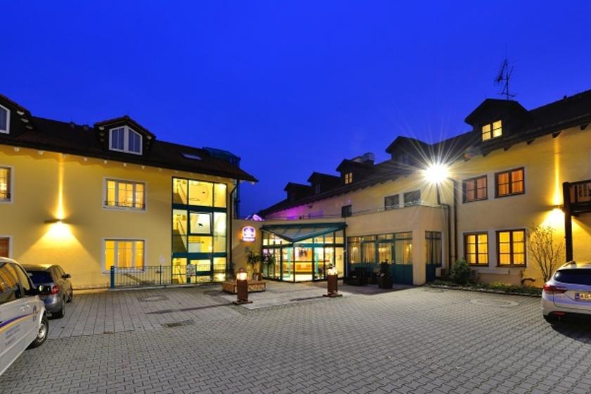 Eingangsbereich Best Western Plus Hotel Erb
