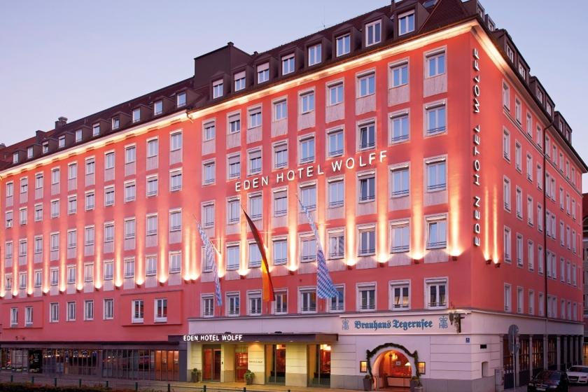 Eden Hotel Wolff Außenansicht