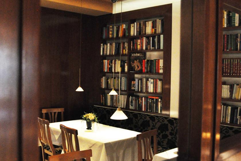 Frühstücksbibliothek
