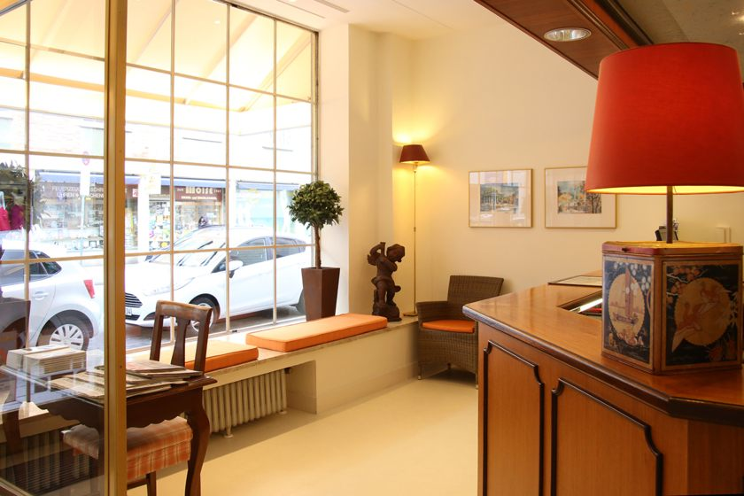Rezeptionsbereich ANDI Stadthotel