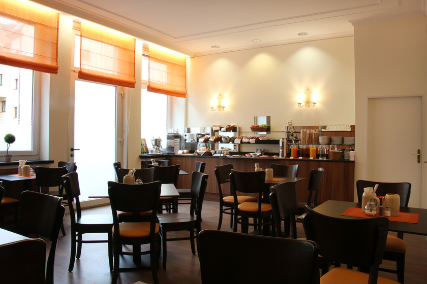 Frühstücksraum ANDI Stadthotel