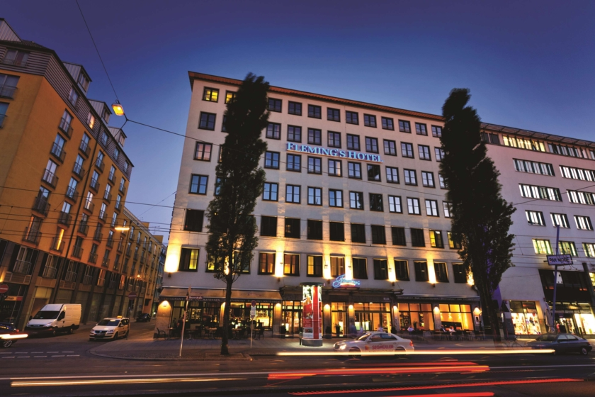 Flemings Hotel München-City Aussenansicht
