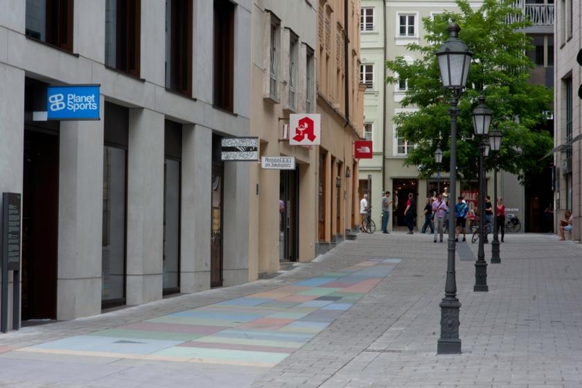 Dultstraße Eingang Pension
