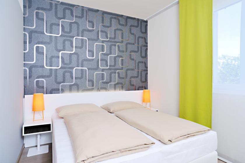 Einzel- und Doppelzimmer