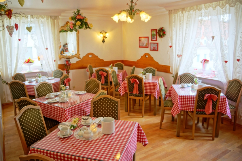 Hotel Monaco Frühstückszimmer