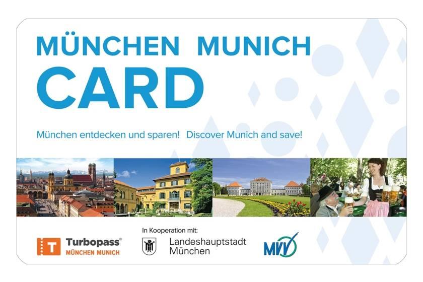 Gästekarten München Card Freisteller