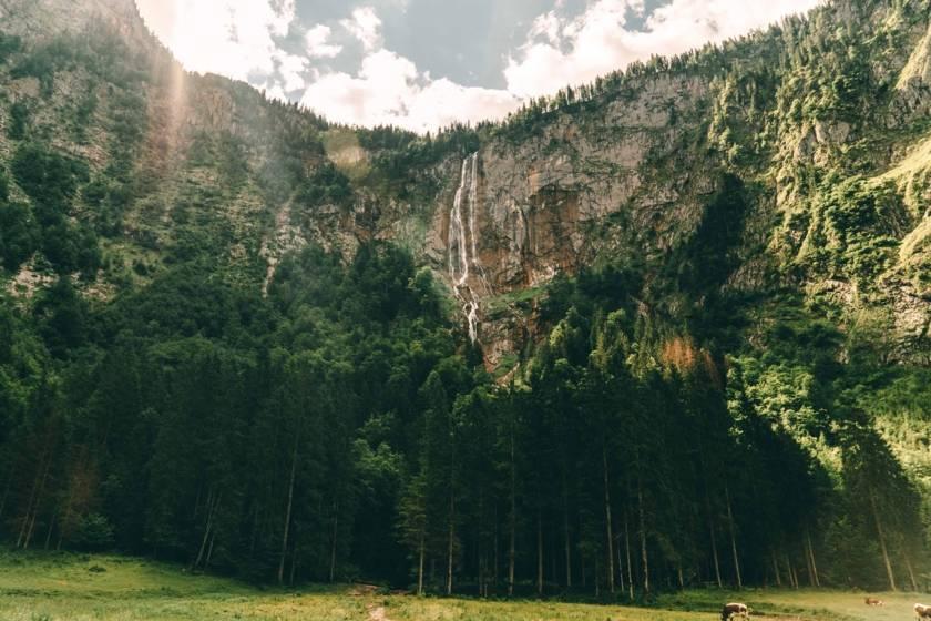 Berchtesgaden Röthbachfall
