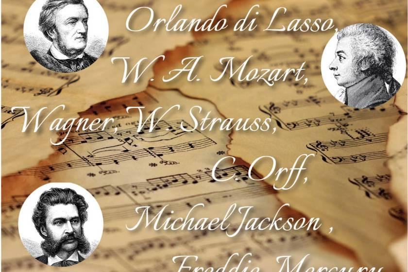 Notenblätter Musiker MWT