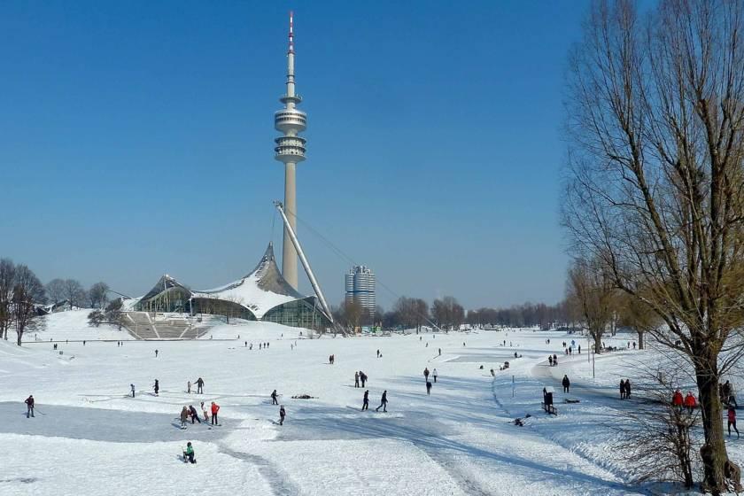 Winter am Olympiapark 1500