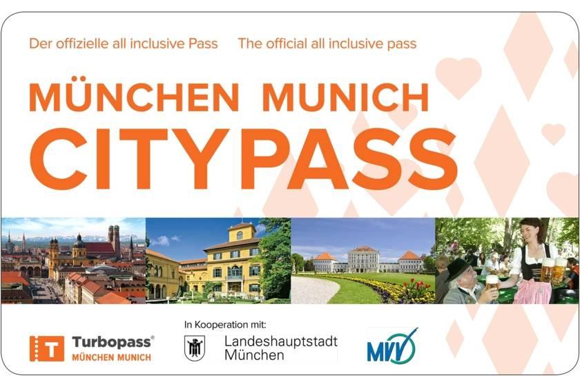 München City Pass 3000 2000 mit Rand