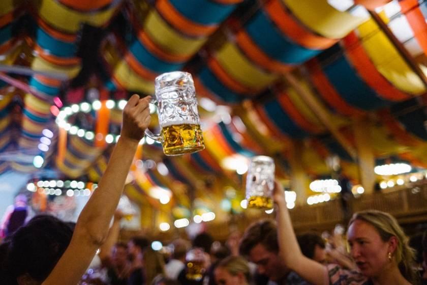 Oktoberfest Bier Schützenfestzelt dm0576