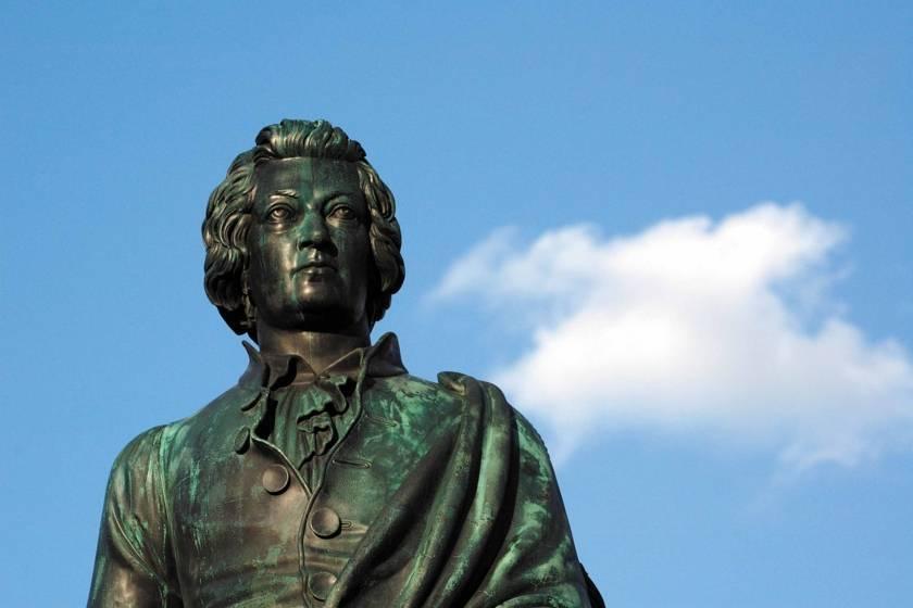 Salzburg Mozart Statue