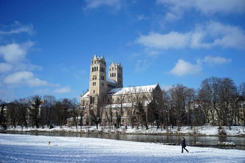 Isar Winter Schnee dm0013