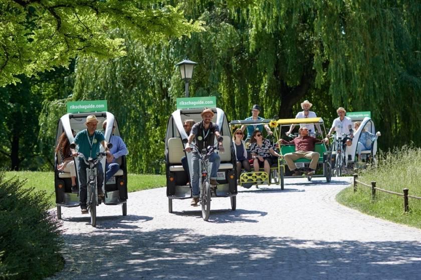 Rikscha Tour Durch Altstadt Und Englischer Garten Infos Buchen Einfach Munchen