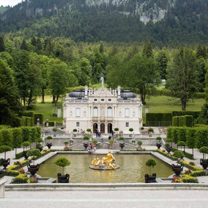 Schloss Linderhof Einfach Munchen