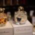 Die Parfümerie Brückner hat auch eigene Düfte – hier in handbemalten Flakons.