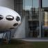 Was vor der Pinakothek der Moderne steht und aussieht wie ein Ufo, ist das Futuro-Haus des finnischen Architekten Matti Suuronen.