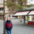 Our author visits her favourite places for her column - here you can see the empty Viktualienmarkt.