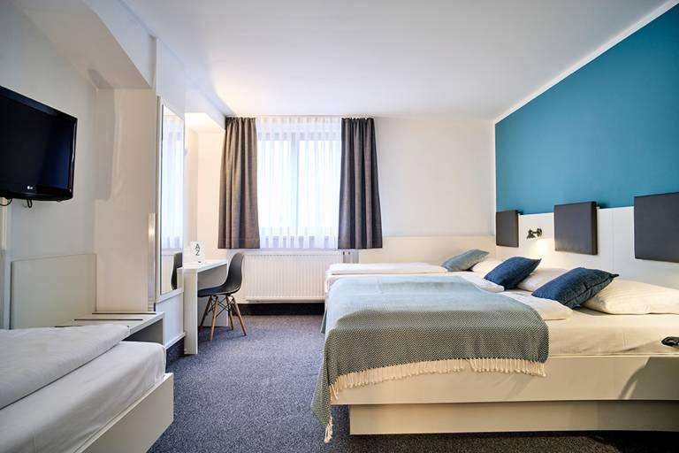 Vierbettzimmer Innenhof