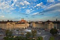 """Der Karlsplatz-Stachus gehörte in den 60-er Jahren zum Verkehrsknotenpunkt in München. Daher stammt auch der Ausdruck: """"Da geht's ja zua wia am Stachus""""."""