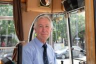 Einer der wenigen Tramfahrer, welche die historische MünchenTram fahren können.