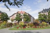 Der Gärtnerplatz ist das Herzstück der Reichenbachstraße und des kompletten Glockenbachviertels.