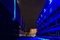 Die Installation Licht | Spiele von Christian Gasteiger am Museum Brandhorst