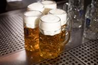 Eines der beliebtesten Getränk der Bayern: Weißbier.