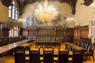 Hogwarts lässt grüßen: im kleinen Sitzungssaal des Neuen Rathauses am Münchner Marienplatz.