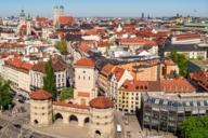 Das Isartor gehörte einst zur 2. Stadtmauer. Heute befindet sich das Valentin-Karlstadt-Musäum in den Türmen des Isartors.