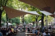 Biergarten am Nockerberg: ein beliebter Ort um mit der Familie einen gemütlichen Abend zu verbringen.