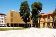 Die Städtische Galerie im Lenbachhaus im Stadtteil Maxvorstadt.