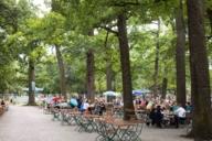 Der Königliche Hirschgarten - der größte Biergarten in München.