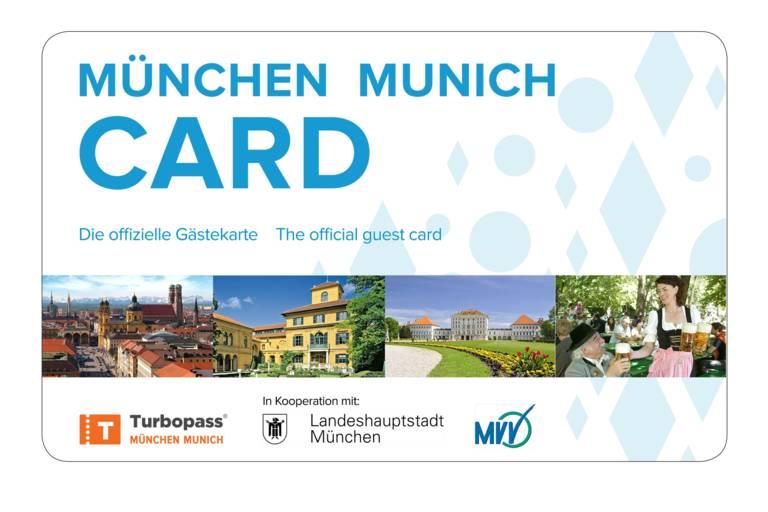 München Card die Gästekarte für München.