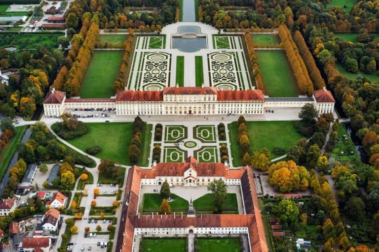 Die Gartenkunst der Schlossanlage Schleißheim bei München zählt zu den bedeutendsten europäischen Barockgärten.