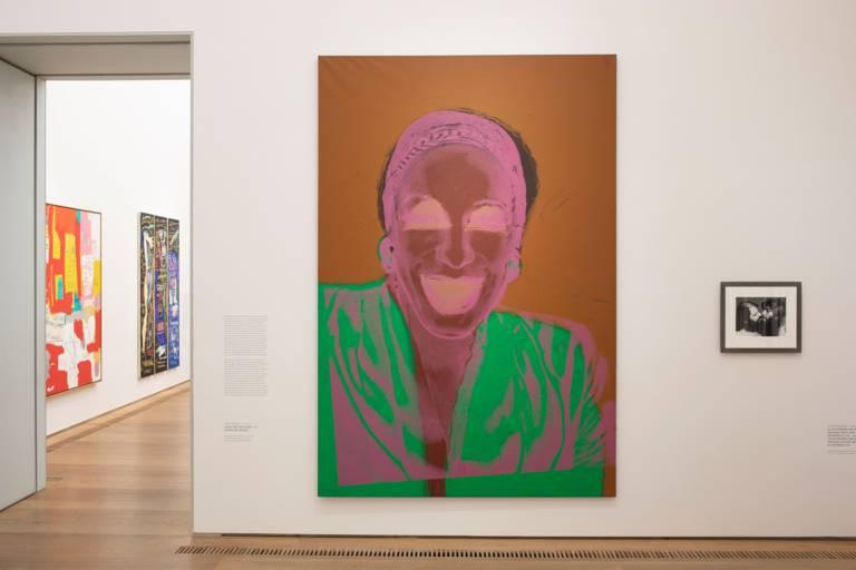 """Die Ausstellung über Andy Warhol """"Forever Young"""" in der Sammlung Brandhorst in München"""
