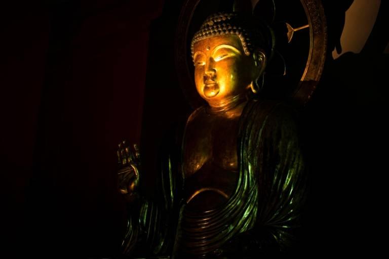 Buddha im Museum Fünf Kontinente in München.