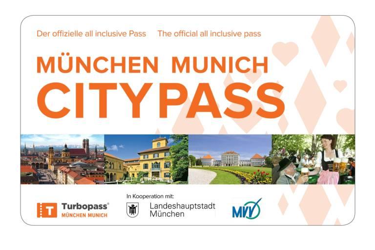 München Citypass die Gästekarte für München.
