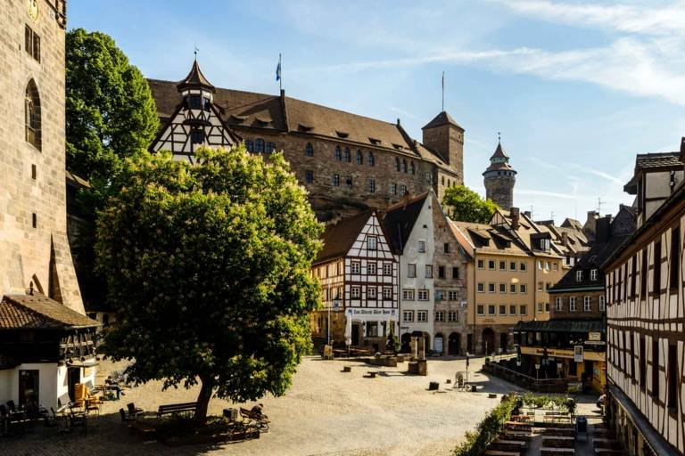 Der Marktplatz in Nürnberg.