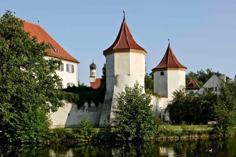Blick auf Schloss Blutenburg