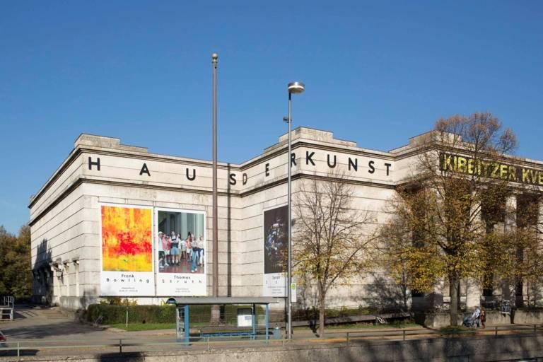 Haus der Kunst in München.