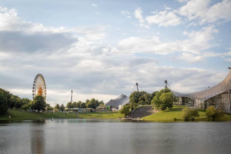 """Olympiapark München bei der Veranstaltung """"Sommer in der Stadt""""."""