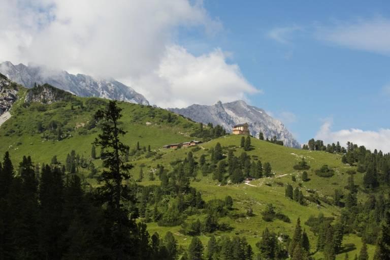 Wettersteingebirge bei Garmisch-Partenkirchen.