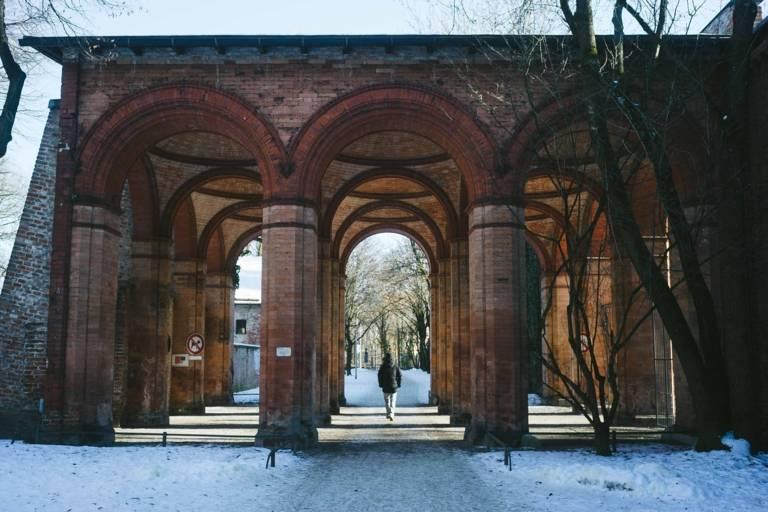 Winterlicher Spaziergang im Alten Südfriedhof München