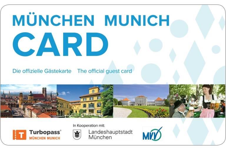 Munich Card the Guest card for Munich.