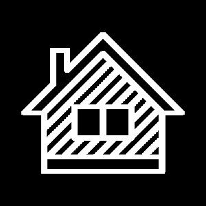 Haus weiss